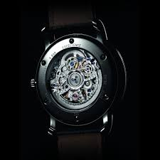 hommes louis erard excellence squelette automatique montre