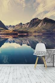 111 best landscape wall murals images on pinterest norwegian landscape wall mural wallpaper