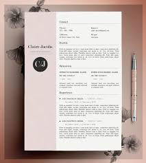 free modern resume designs and layouts cv resume template design bright and modern unique resume
