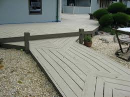 wooden floor concrete in a design of patio flooring option