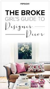 the broke u0027s guide to designer decor discount codes girls
