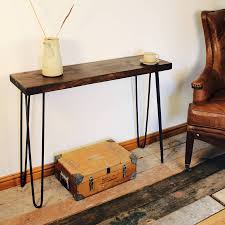 Industrial Style Furniture by Industrial Style Console Table By Möa Design Notonthehighstreet Com