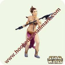 2005 wars 9 princess leia hallmark ornament at hooked on
