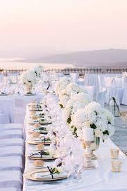 best 25 rooftop wedding ideas on white centerpiece