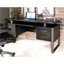 Distressed Computer Desk Distressed Wood Office Desk Full Image For Charcoal Modern Office