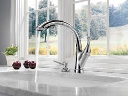 kitchen and bath faucets faucet com 4153 ar dst in arctic stainless by delta