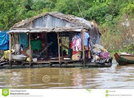 floating house cambodia editorial photography image 23537632