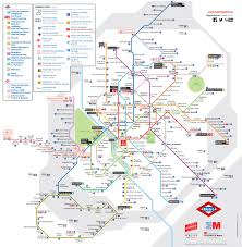 Mexico City Airport Map by Map Of Madrid Subway Underground U0026 Tube Metro Stations U0026 Lines