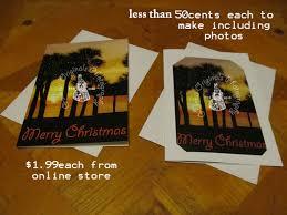 custom christmas cards 6 steps