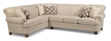 Fabric Sectional Sofa Sectional Couches And Sofas Flexsteel Sectionals