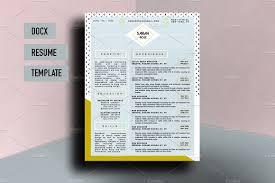 Resume Template Docx Sarah Rose Beautiful Resume Template Resume Templates Creative