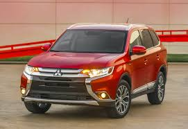 red mitsubishi outlander mitsubishi outlander facelift photo gallery autocar india
