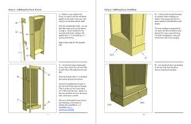 woodfever free woodworking plan you can build a painted bookcase