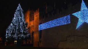 Christmas Light Calculator No Tree In Time For Cardiff Christmas Lights Switch On Bbc News