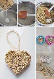 how to make a cookie cutter bird feeder the winter nature and