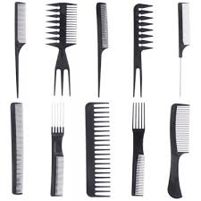 hair combs 10pcs make up comb professional hair combs anti static hairbrush