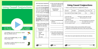 conjunctions powerpoint pack casual connectives pack