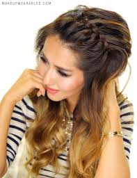 hair braid across back of head 3 easy peasy headband braid hairstyles for lazy girls