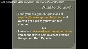 financial accounting homework help finance homework help tutor usa