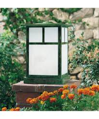 Outdoor Column Light by Arroyo Craftsman Mc 7 Mission 1 Light Outdoor Pier Lamp Capitol