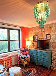 home decor purple eclectic living space photos hgtv