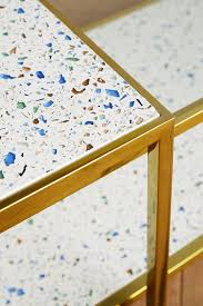framed terrazzo coffee tables terrazzo tables and living rooms