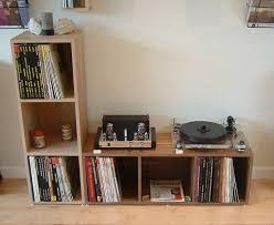 Vinyl Record Bookcase Elegant Vinyl Storage Cabinet Custom Record Vinyl Storage Storage