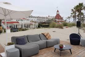 Outdoor Livingroom Room U0026 Board And Hotel Del Coronado Partner To Bring Guests The