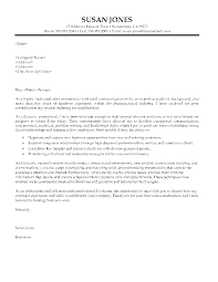 pharmaceutical sales cover letter sample no experience