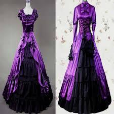 Purple Wedding Dresses Purple Gothic Wedding Dress Naf Dresses