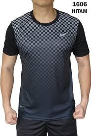 Baju Gambar Nike kaos olahraga nike 1606 hitam rumah jersey