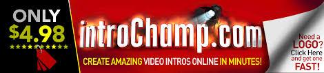 video intro maker online introchamp