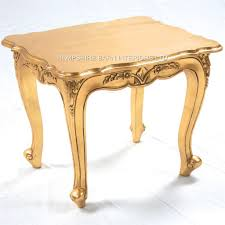 a gold leaf ornate chateau style side lamp table hampshire