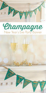 new year u0027s eve party champagne banner atta says