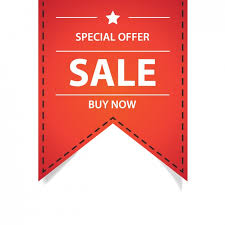 ribbon sale special offer ribbon vector free