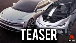 Tesla Minivan Teaser Ff91 Y Lucid Air Vs Tesla Model S Y Model X Youtube
