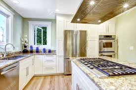 modern and practical kitchen room design white cabinet with