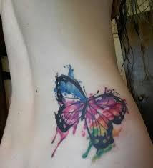 my watercolor butterfly done by matt wilson