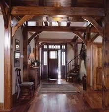 Best Timber Frame Images On Pinterest Log Cabins Rustic - Home interior frames