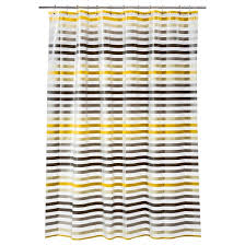Target Striped Shower Curtain Stripe Shower Curtain Gray Yellow Room Essentials Target