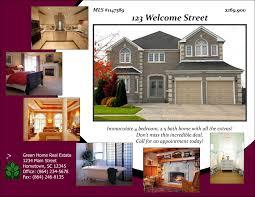 real estate agent brochure templates elegant realtor brochure