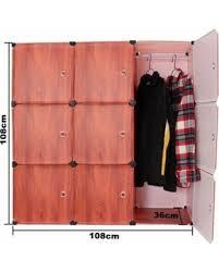 Closet Storage Cabinets Deal Alert 9 Cube Portable Closet Storage Organizer Cabinet