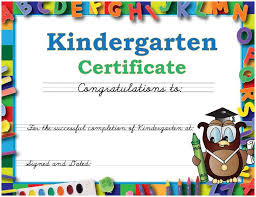 preschool diploma graduation caps and gowns for kindergarten daycare and preschool