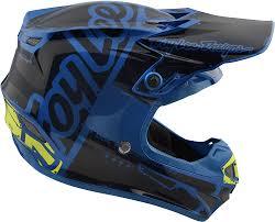 youth xs motocross helmet 2018 troy lee designs se4 polyacrylite factory helmet motocross