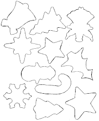 glitter ornaments templates template and shapes