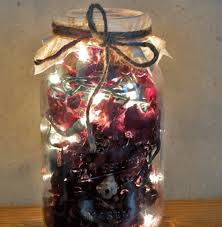 how to make mason jar lights with christmas lights instructions for making a mason jar potpourri warmer how to make a