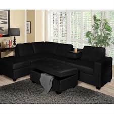Black Sectional Sofas Going Sophisticated With Black Sectional Sofas Elites Home Decor
