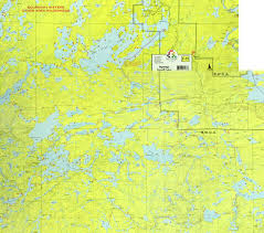 Boundary Waters Map Frost River Route Seagull Canoe Outfitters U0026 Lakeside Cabins