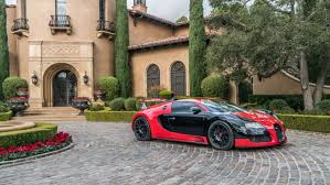 bentley red and black seen red and black 2008 bugatti veyron for sale