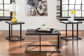 ashley airdon coffee table set dream rooms furniture